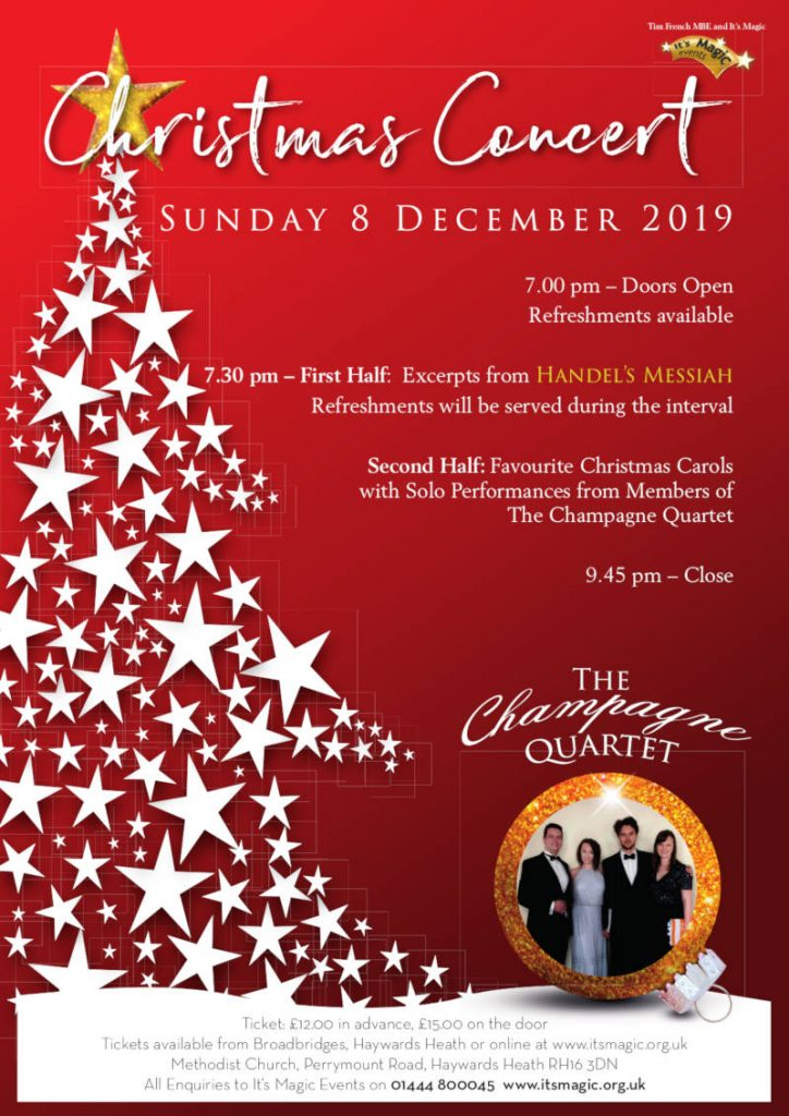 Christmas Concert Its Magic Live Charity Music Concerts