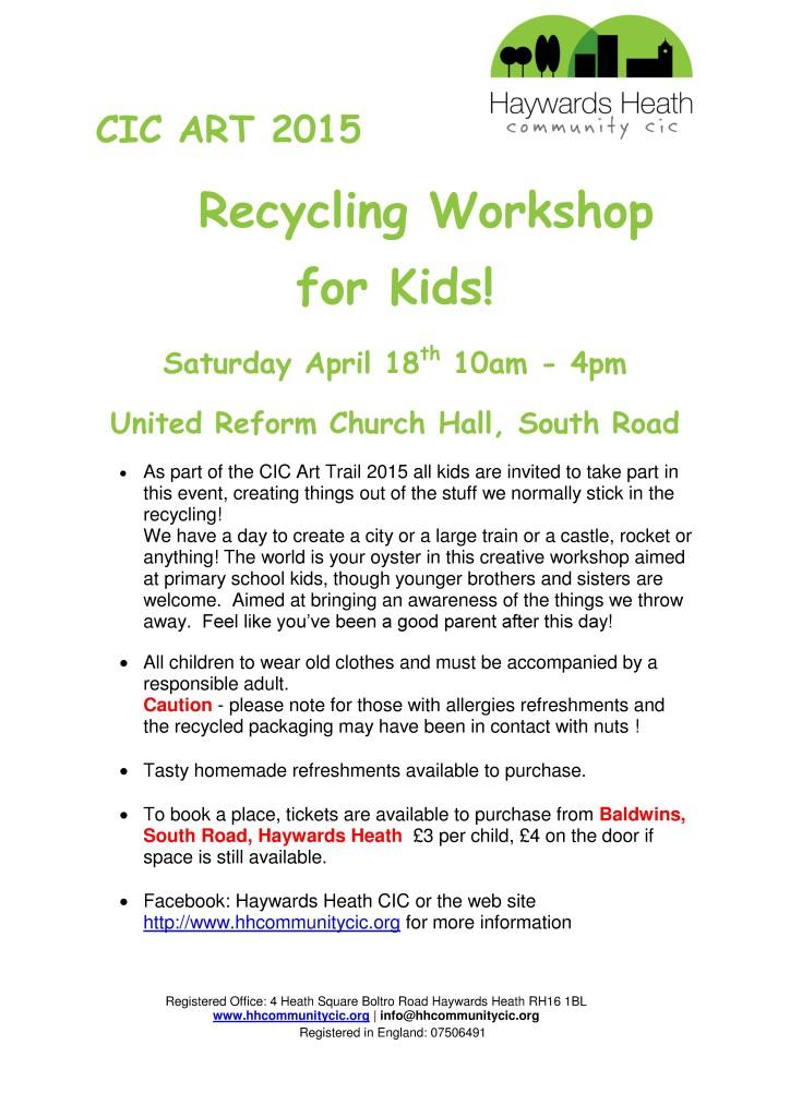 Recycling Workshop  leaflet 18 04 15-001