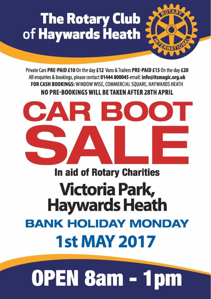 Car Boot Sale Haywards Heath