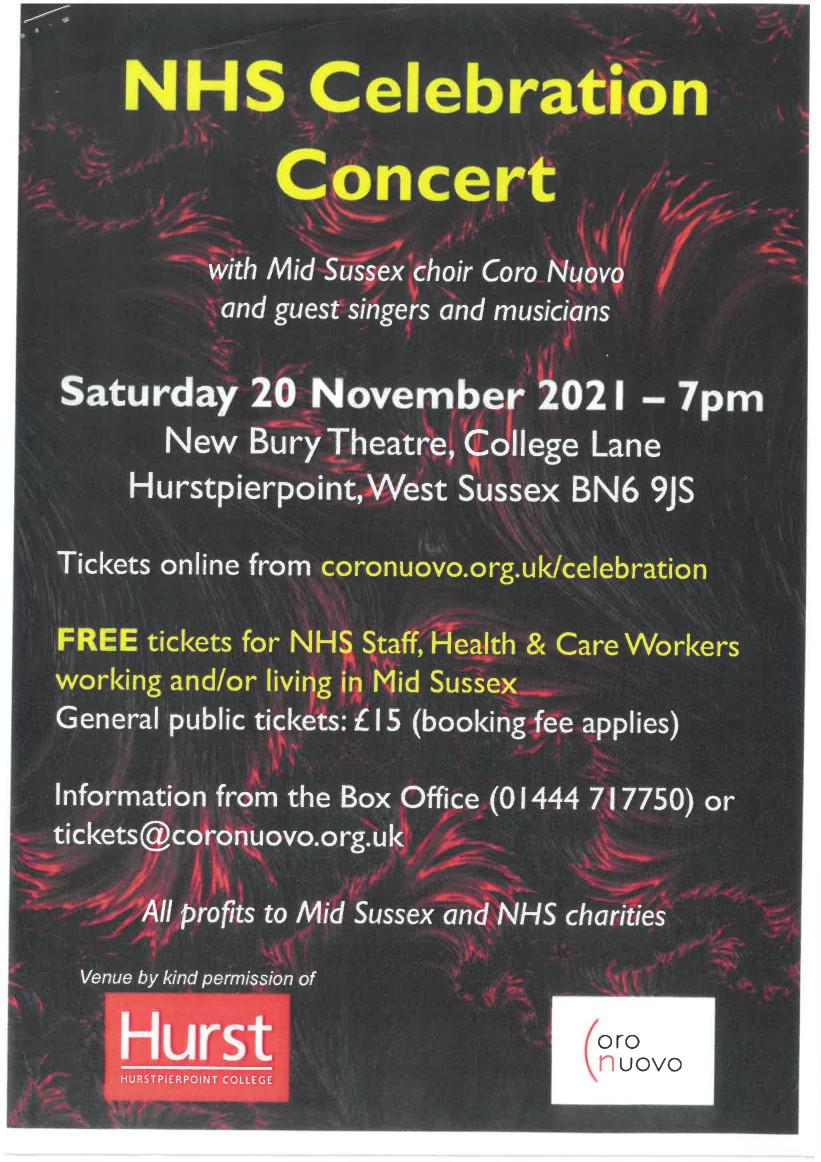 NHS Celebration Concert